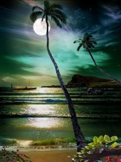 Romantic Night Mobile Wallpaper