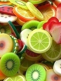 Colors Lemons Mobile Wallpaper