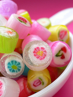 Cute Candies Mobile Wallpaper