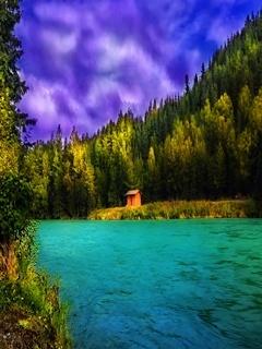 Lake Mobile Wallpaper