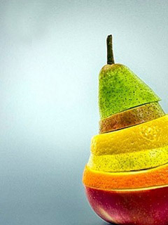 Cut Fruits Mobile Wallpaper