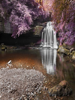 Waterfall Mobile Wallpaper
