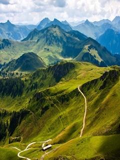 Austrian Mountain Mobile Wallpaper