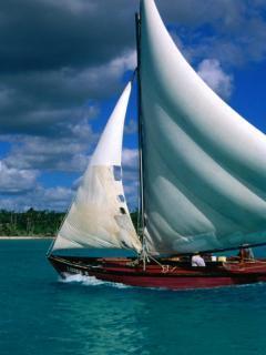 Sailing Ship Mobile Wallpaper