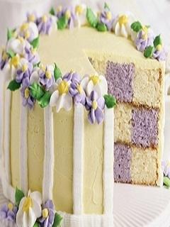 Flower Cake Mobile Wallpaper