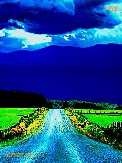 Road Nature Mobile Wallpaper