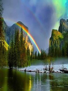 Rainbow Mobile Wallpaper
