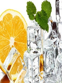 Lemon W Ice Mobile Wallpaper