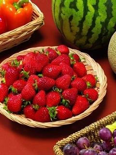 Fresh Fruits Mobile Wallpaper