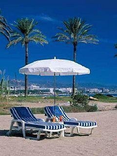 Beach Chairs Mobile Wallpaper