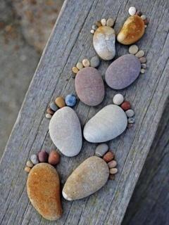 Stone Steps Mobile Wallpaper