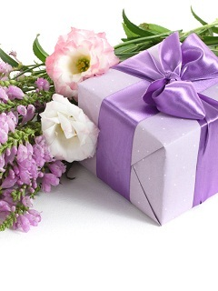 Flower Gift Mobile Wallpaper
