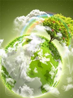 Green Earth Mobile Wallpaper