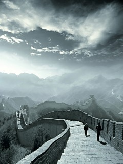 Chinese Wall Mobile Wallpaper