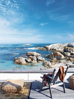 Seaside Deck Capetown Mobile Wallpaper