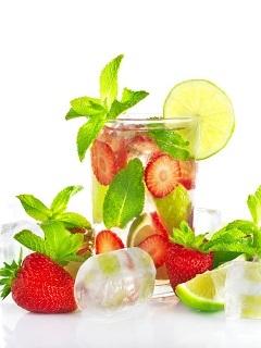 Summer Drinks Mobile Wallpaper