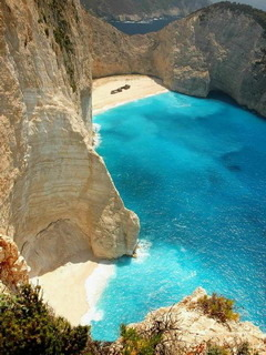 Navagio Beach Zakynthos Mobile Wallpaper