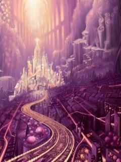 Fantasy City Mobile Wallpaper