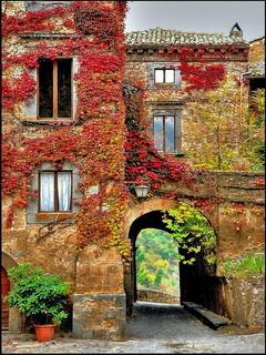 Autumn House Mobile Wallpaper