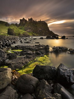 Dunluce Castle Mobile Wallpaper