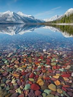 Lake Mcdonald Montana Mobile Wallpaper