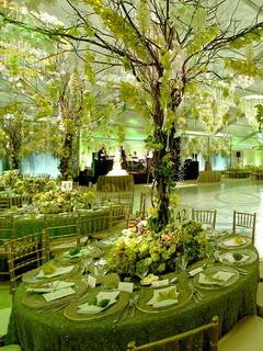 Green Tables Mobile Wallpaper