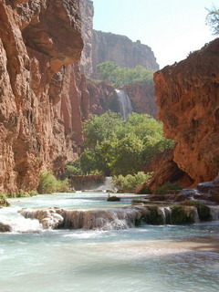 Havasupai Falls Mobile Wallpaper