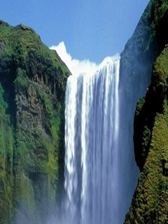 Lovely Waterfalls Mobile Wallpaper