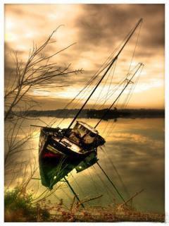 A Death Boat Mobile Wallpaper