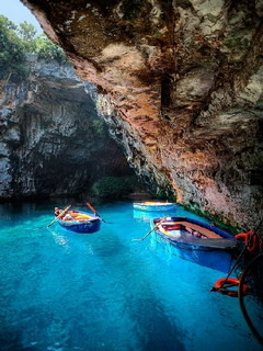 Melissani Cave Mobile Wallpaper