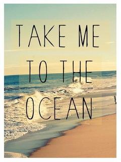 Take Me To Ocean Mobile Wallpaper