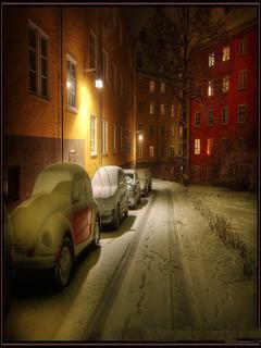 Snow Scene Mobile Wallpaper