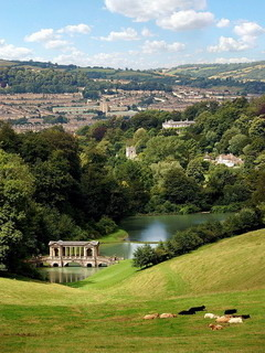 Prior Park Landscape  Mobile Wallpaper