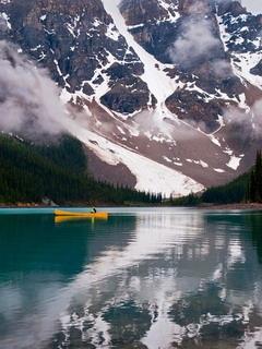 Moraine Lake Canada Mobile Wallpaper