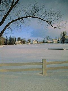 Winter Villages Mobile Wallpaper