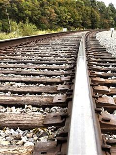 Train Track Mobile Wallpaper
