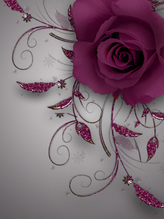 Cute Pink Flower Mobile Wallpaper