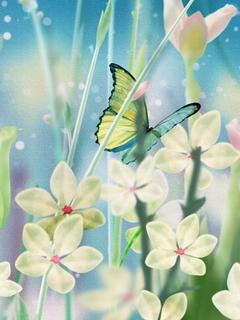 Butterfly Dream Mobile Wallpaper
