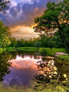 River Beauty Nature Mobile Wallpaper