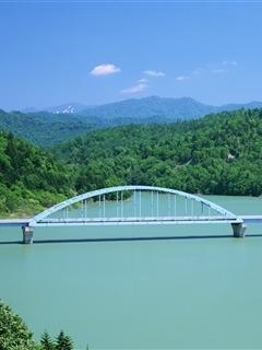 Nice View Bridge Mobile Wallpaper