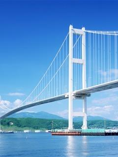 Hokkaido Bridge Mobile Wallpaper