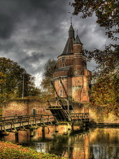 Castle Duurstede On Netherland Mobile Wallpaper