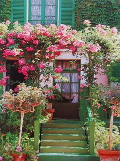 Monet's Home  Giverny Mobile Wallpaper