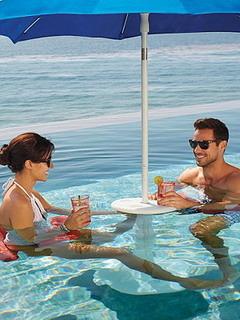 Pool Sun Station Mobile Wallpaper