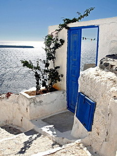 Santorini Greece Mobile Wallpaper