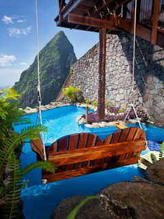 St Lucia Ladera Resort Mobile Wallpaper