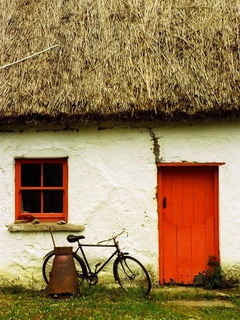 Irish Cottage Mobile Wallpaper