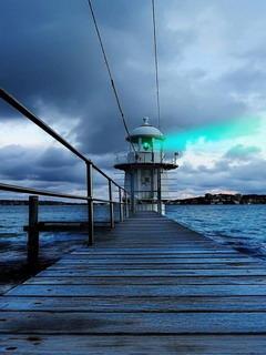 Macquarie Lighthouse Mobile Wallpaper