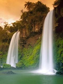 Beautiful Waterfall Mobile Wallpaper
