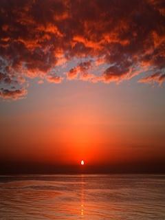 Far Sunset Mobile Wallpaper